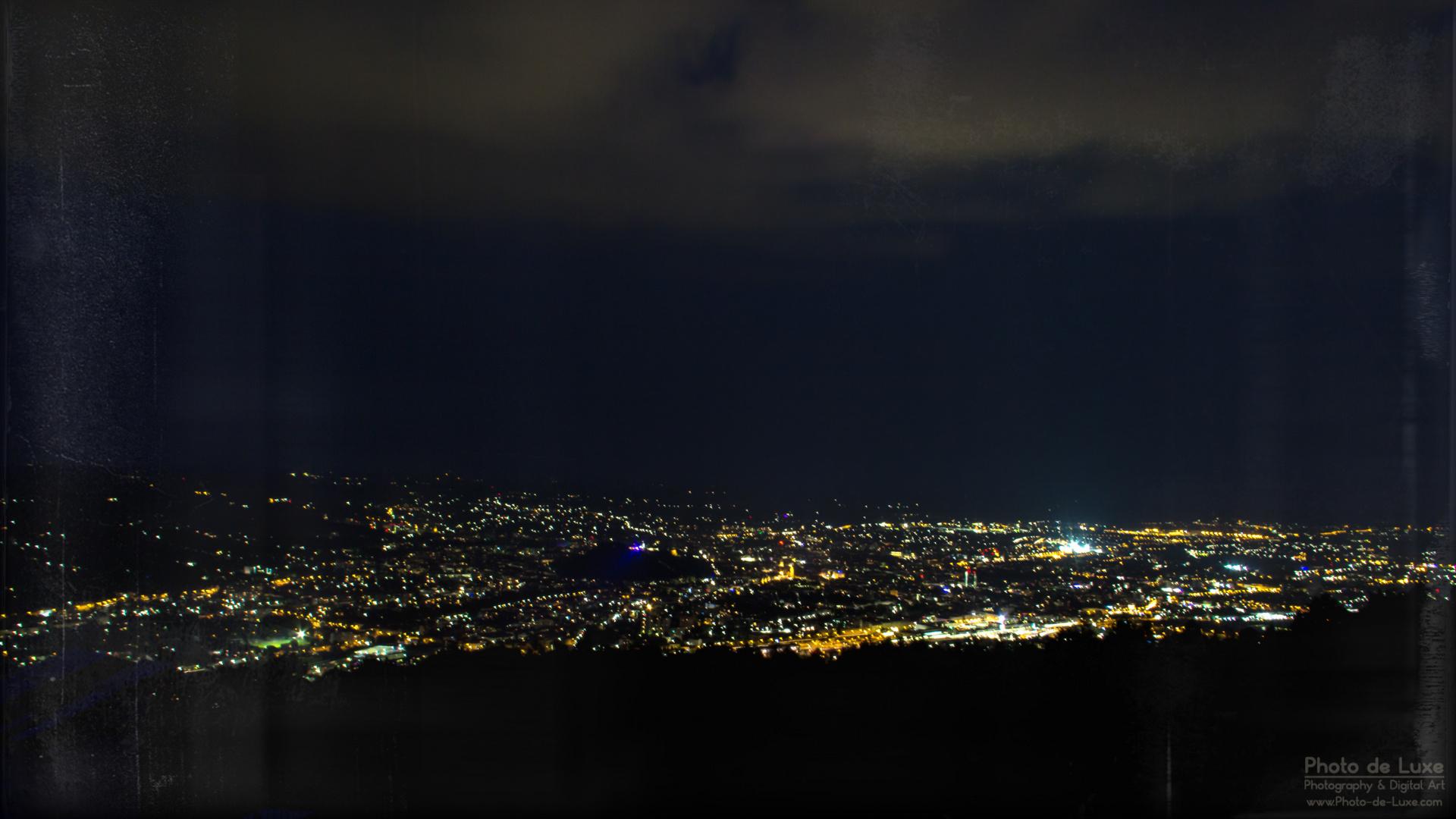 Nächtlicher Blick über Graz