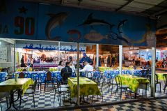 Nächtlicher Fischmarkt von Agadir (Marokko)