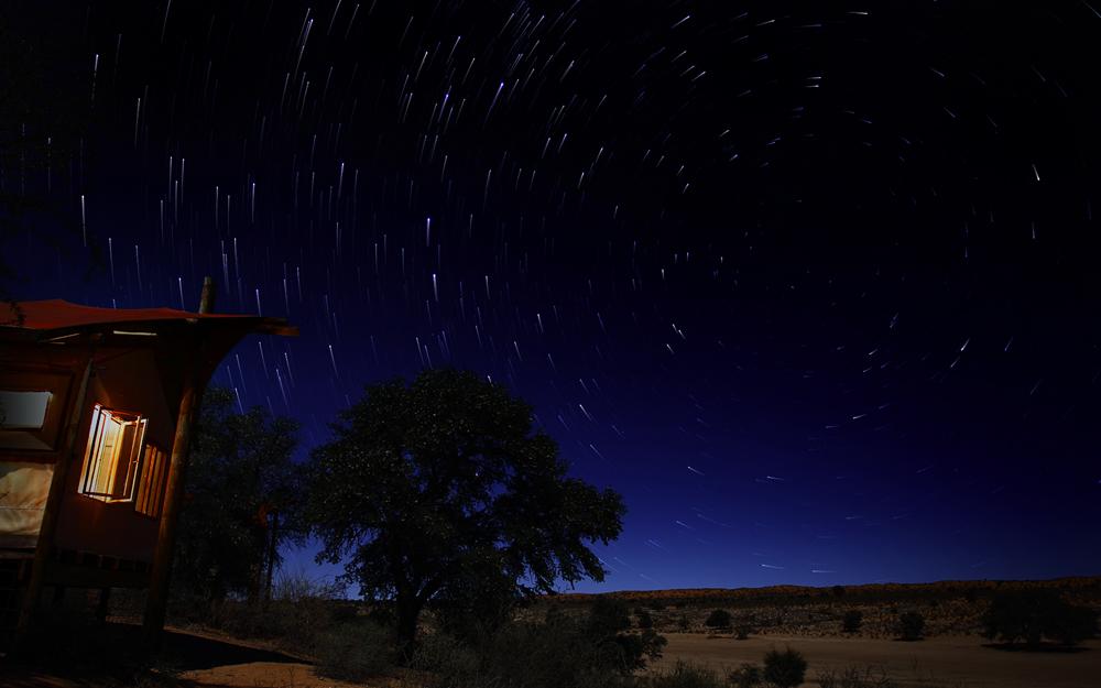 Nächtlicher Kalahari-Himmel