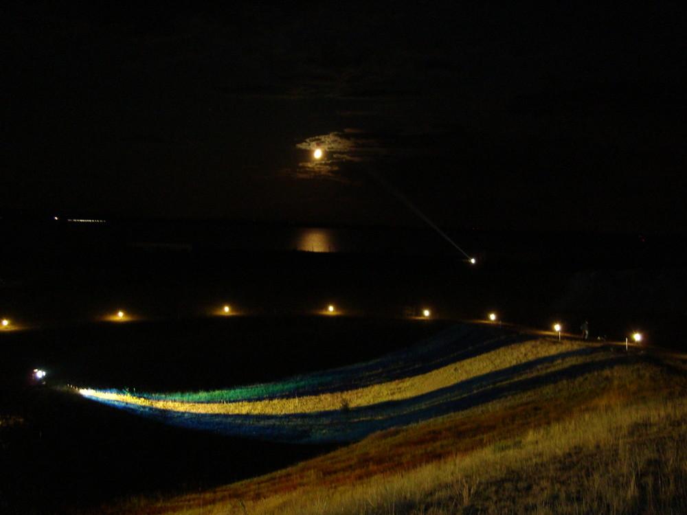 Nächtlicher Mondschein
