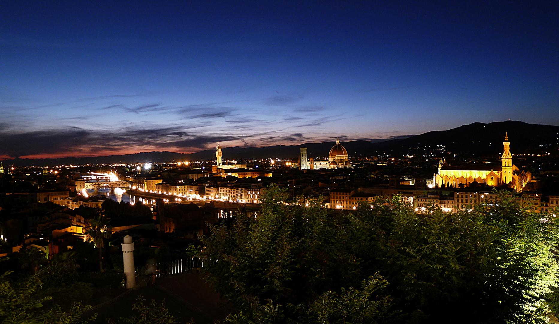 Nächtliches Florenz