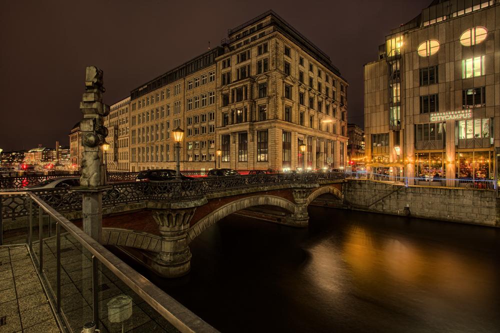 Nächtliches Hamburg II