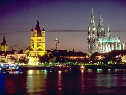 Nächtliches Köln