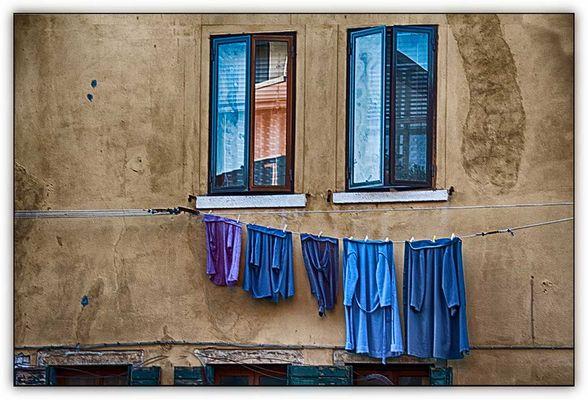 nächtliches Venedig im Winter