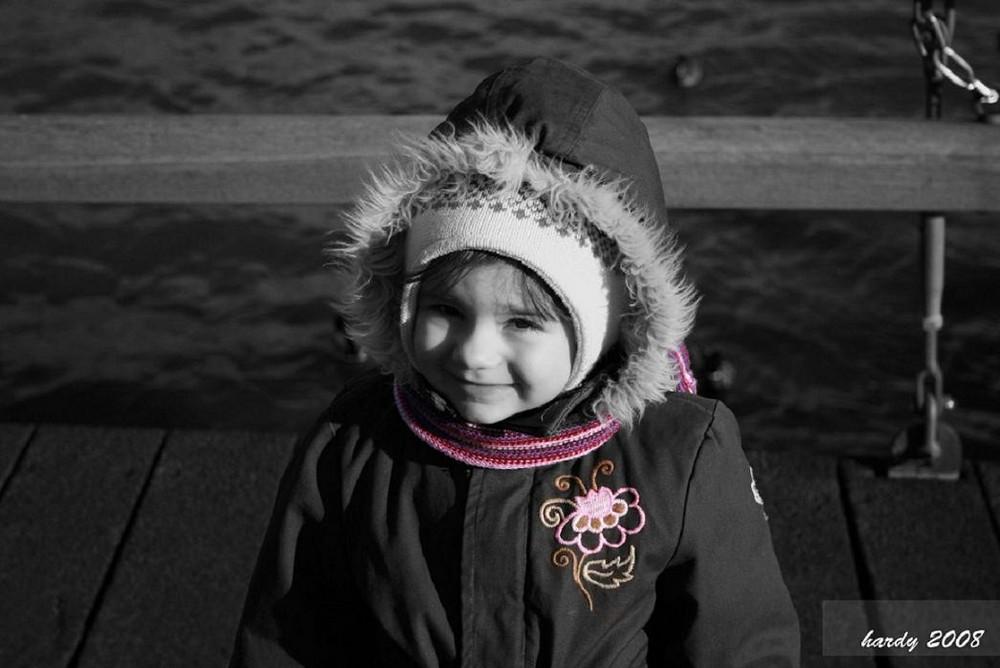 Naemi, die süsse Tochter unserer Freunde..