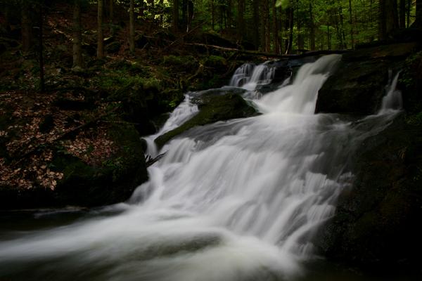 Nagelsteiner Wasserfälle - ein denkwürdiger Tag