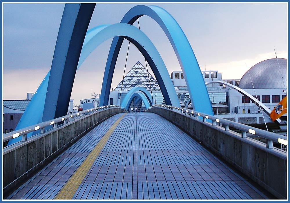 Nagoya Port in Japan