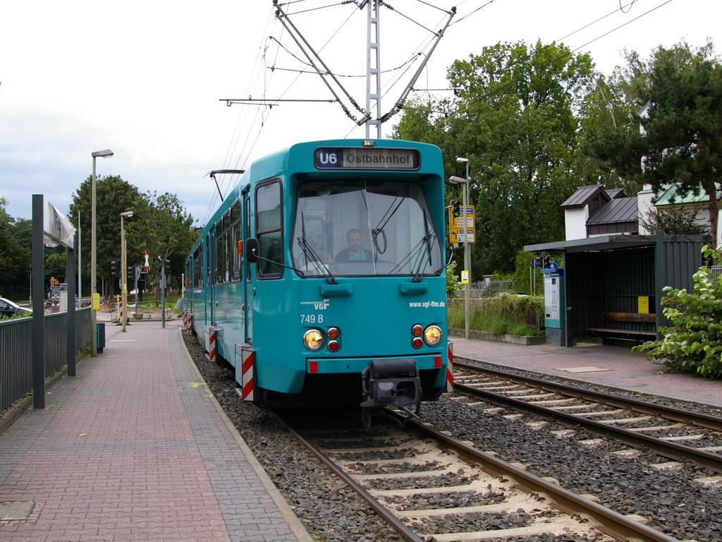 Nahverkehr Frankfurt/Main - geschlossen
