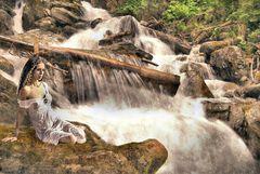 Naiade: la ninfa della cascata