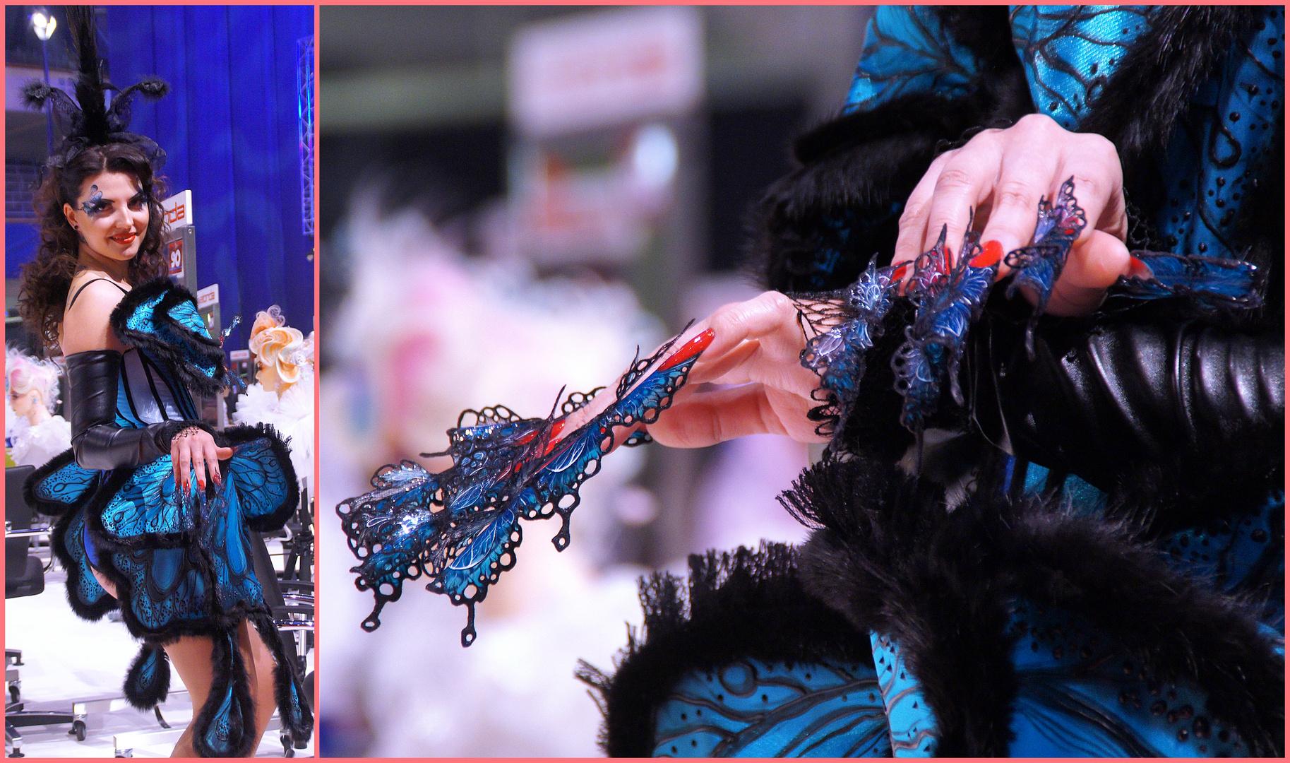 Nail Design: Papilio ulysses