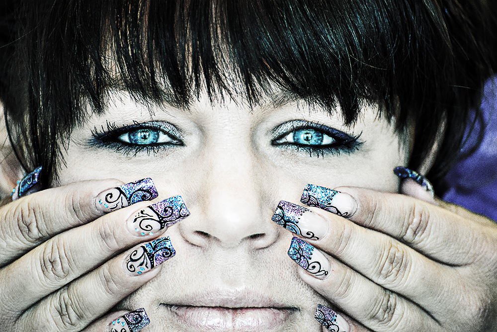 nails and eyes