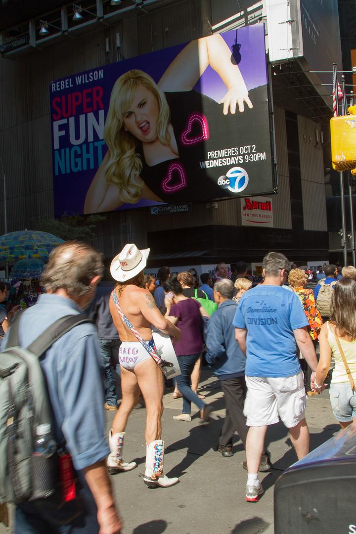 Naked Cowboy N.Y.C.