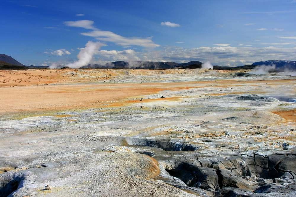 Namafjall - Solfatarengebiet