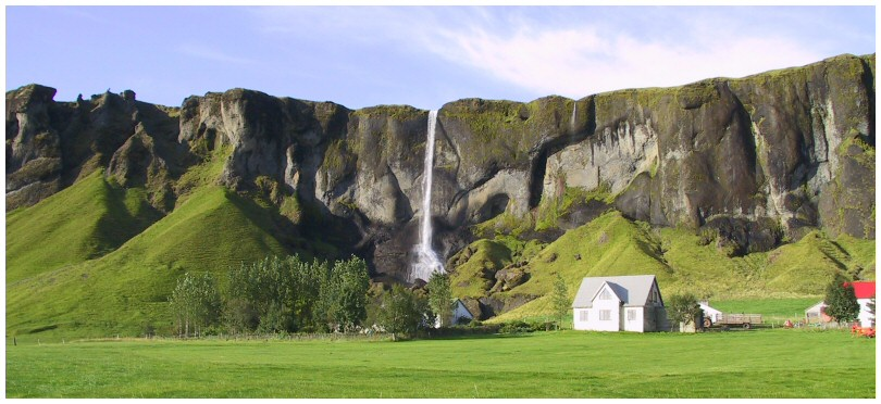 Namenloser Wasserfall