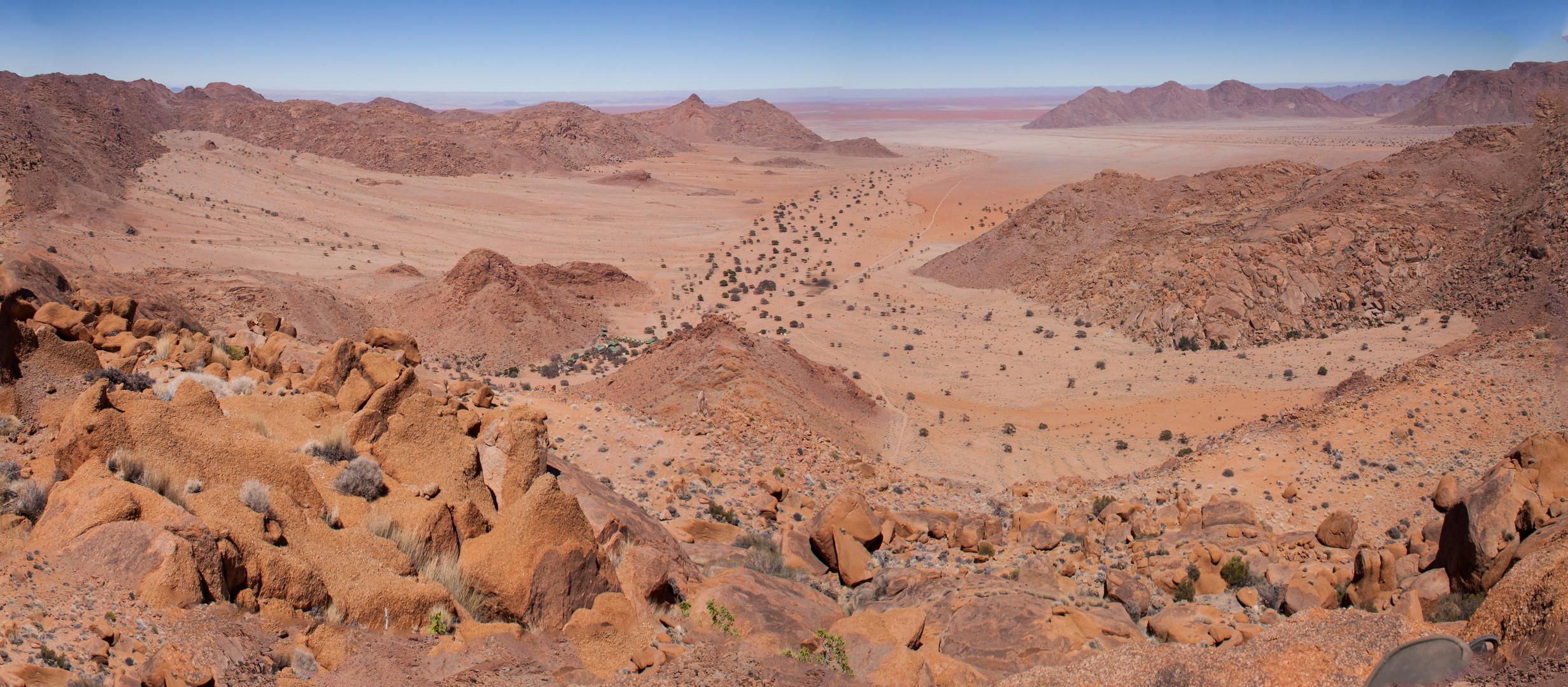 Namib - Panorama