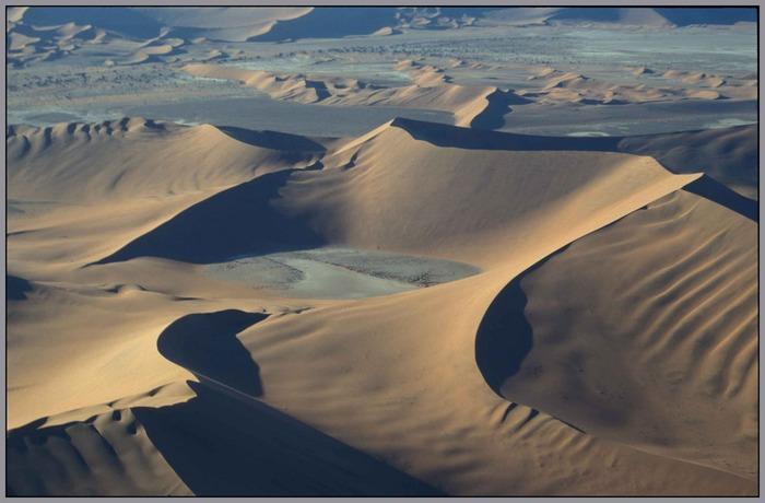 Namib-Wüste (Luftaufnahme)
