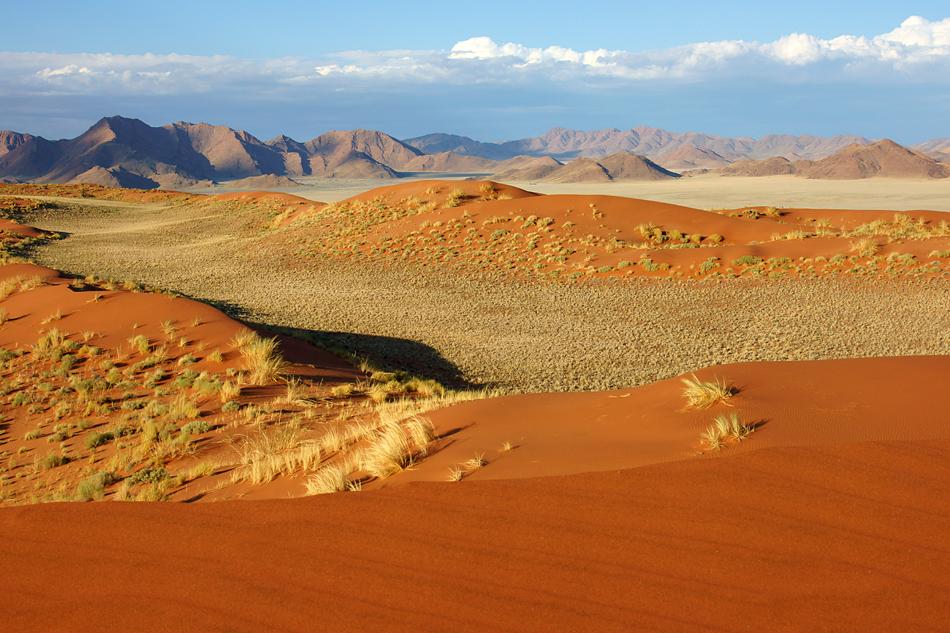 Namibia 2012 – Definition Grösse – auf seinem Land hätte die Stadt Zürich über zweimal Platz….