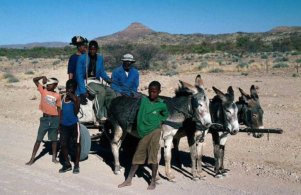 NAMIBIA die traditionelle Art zu reisen