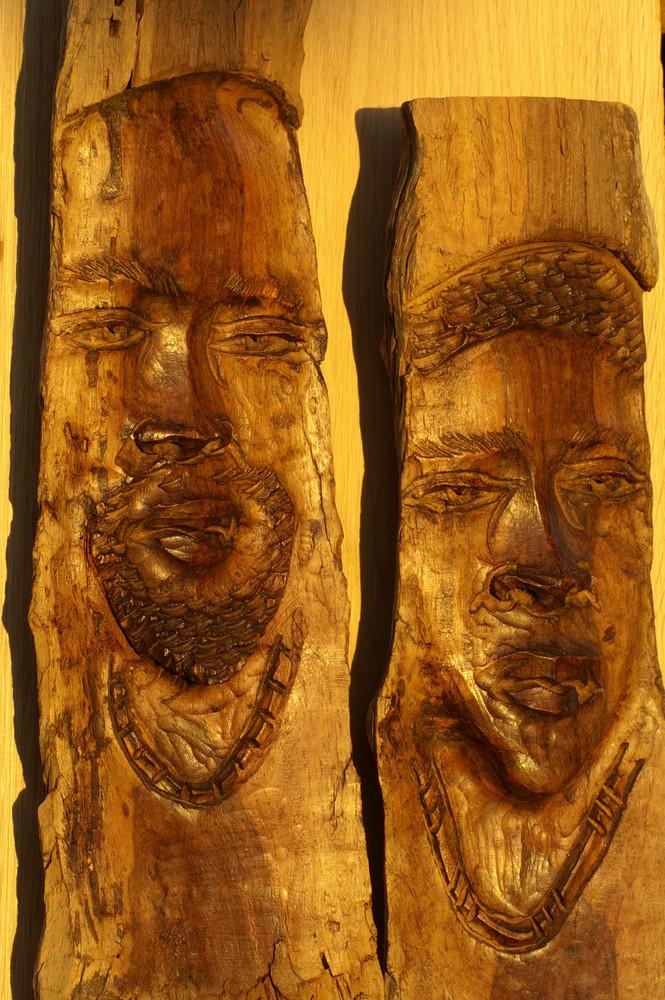 Namibia - Holzschnitzkunst aus Okahandja 1