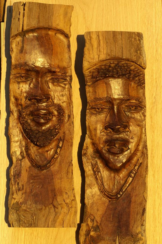 Namibia - Holzschnitzkunst aus Okahandja 2