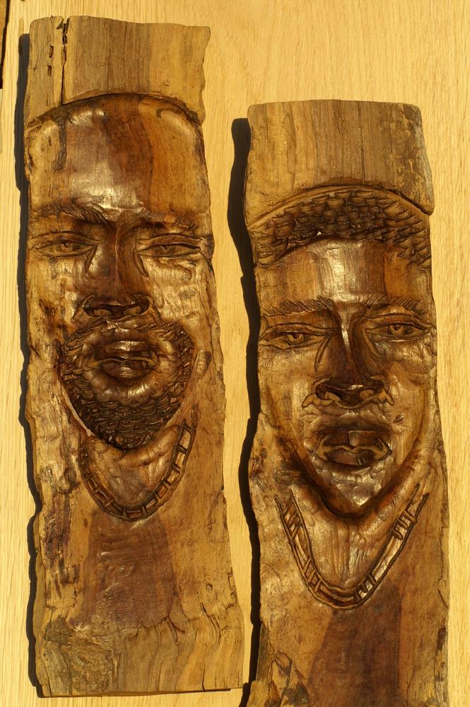 Namibia - Holzschnitzkunst aus Okahandja 3