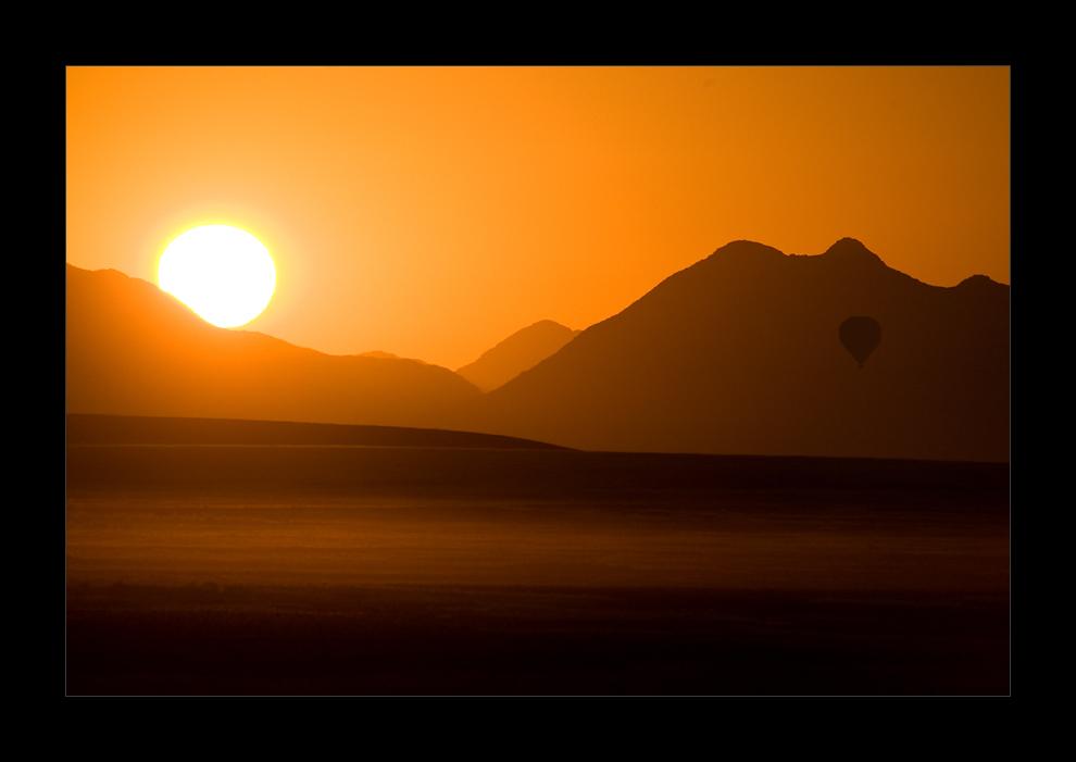 Namibia II - Ballooning in der Namib
