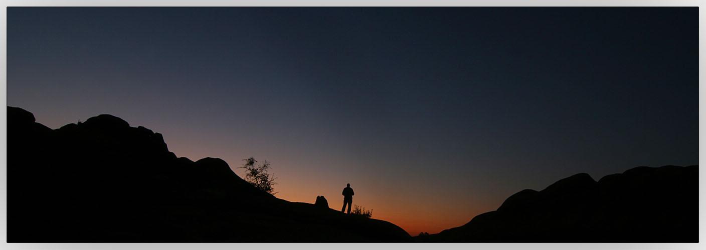 Namibia - Sonnenaufgang Spitzkoppe