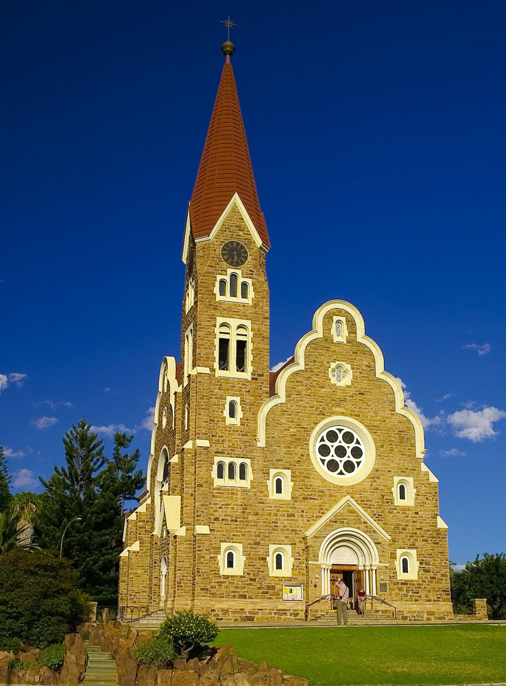 Namibia - Windhoek, Nationaldenkmal Christuskirche