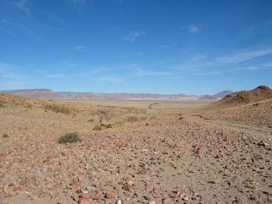 Namibische Weite...