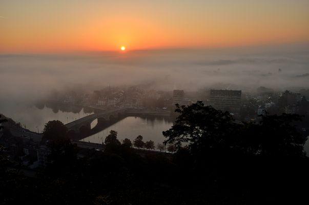 Namur a dur de sortir de l'édredon