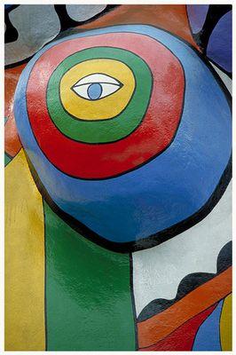 Nana-Skulptur  Detail