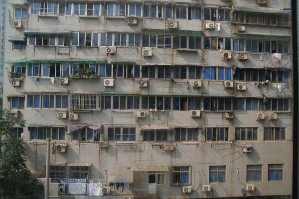 Nanjing - Hightech an der Fassade