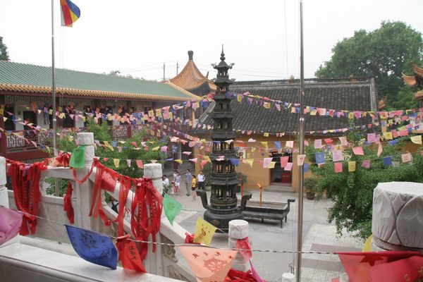 Nanjing - im Kloster