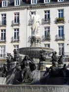 Nantes Place Royale la Loire et ses affluents
