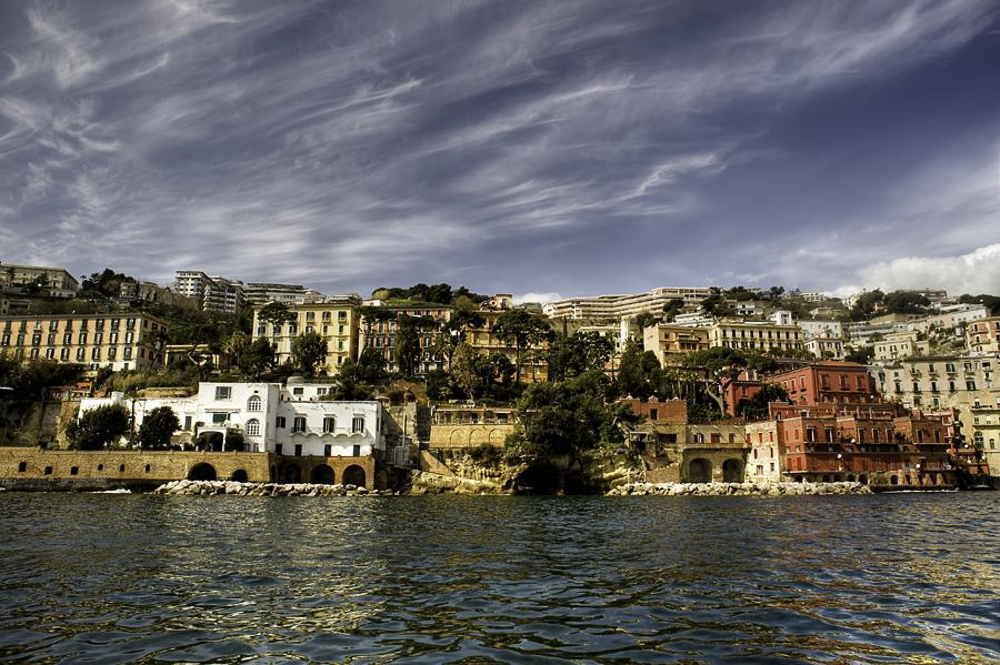 Naples' coast