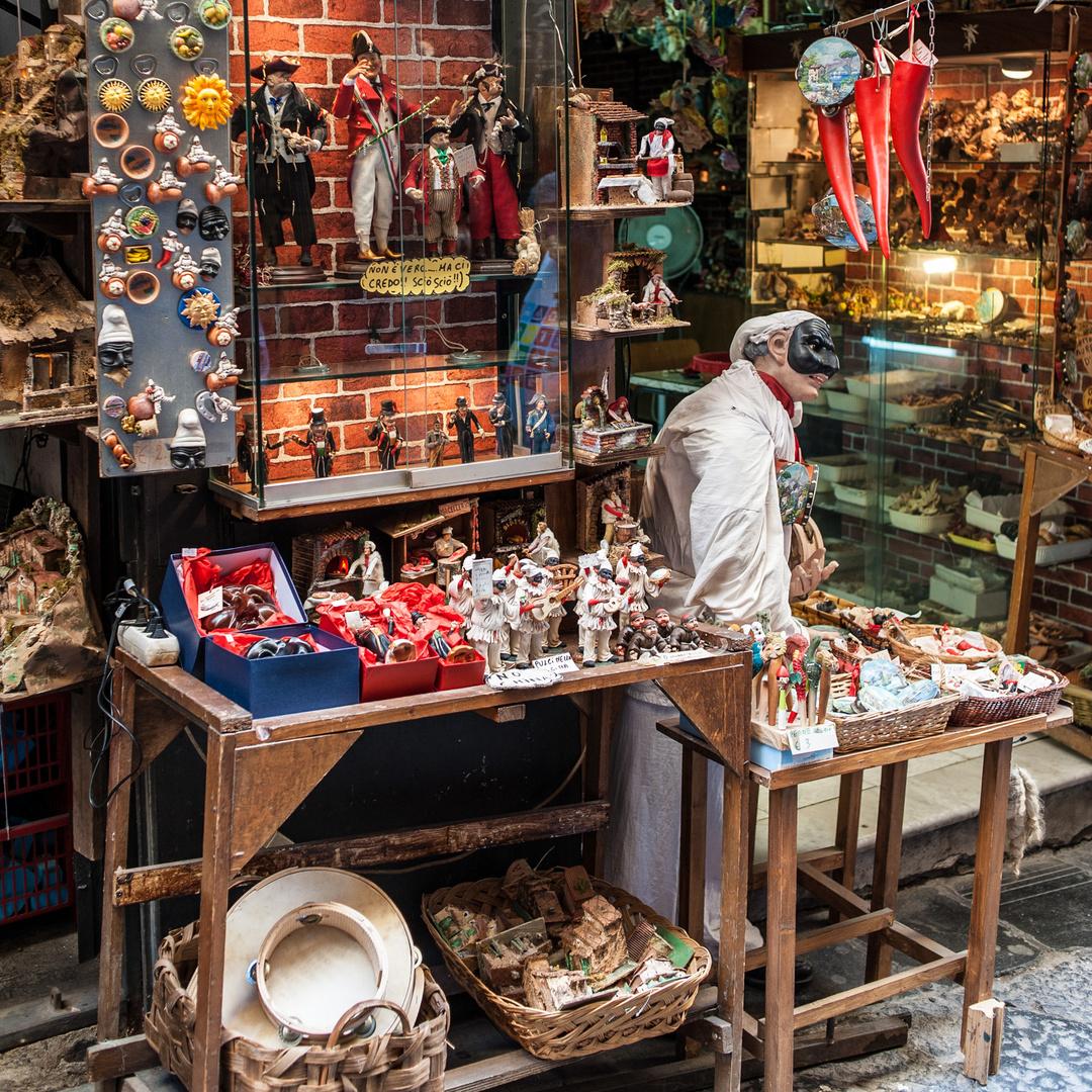 Nápoles - C. San Gregorio Armeno