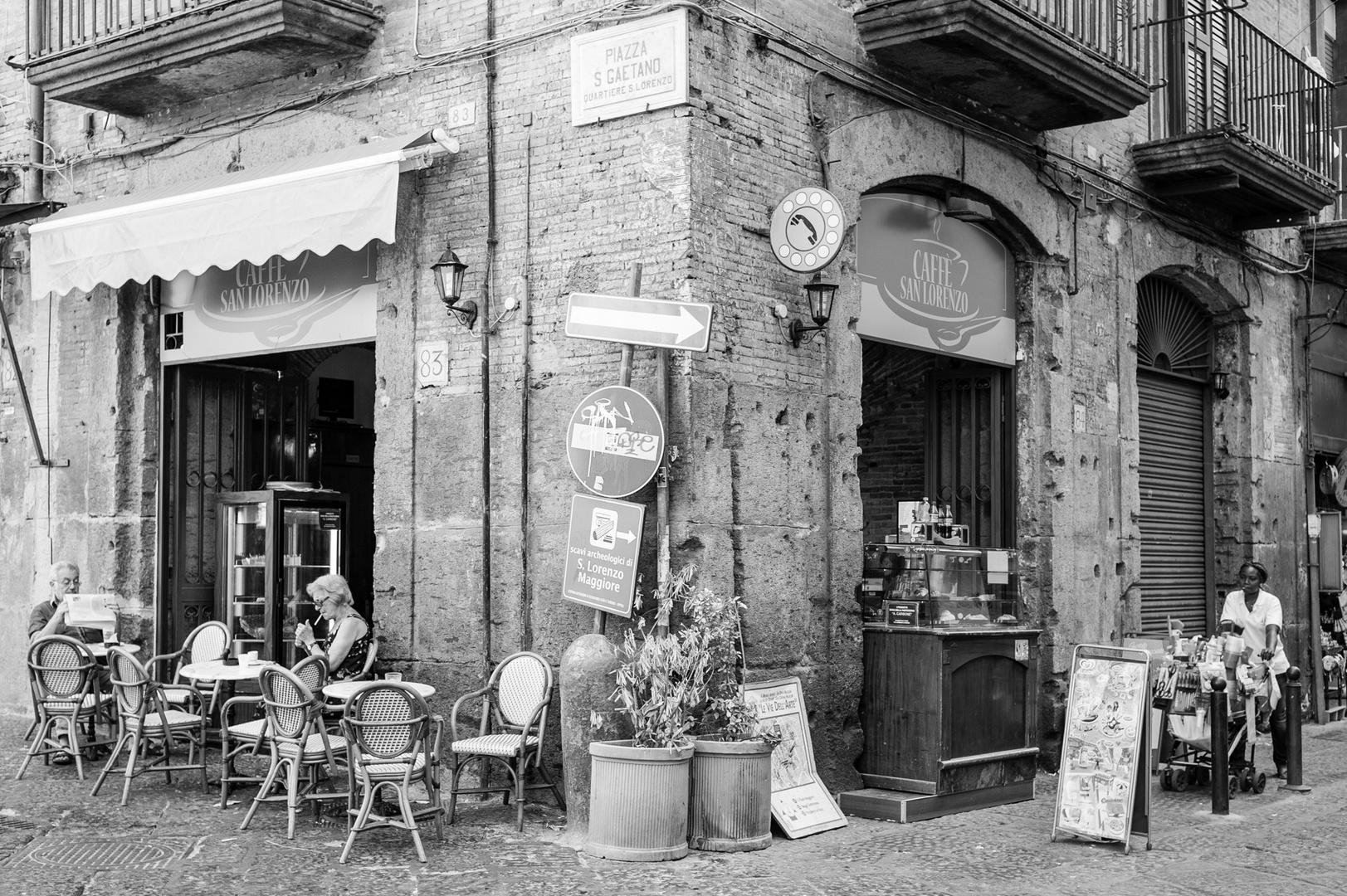 Nápoles - Piazza san Gaetano