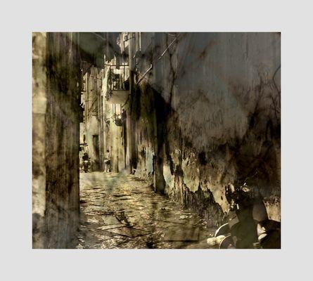 Napoli im Rahmen