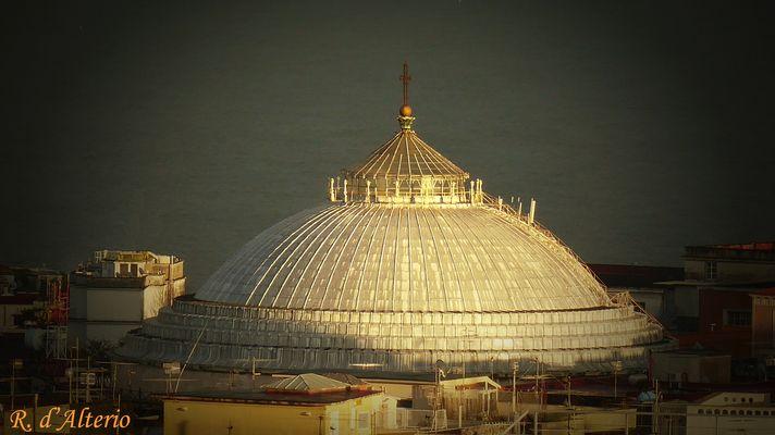 Napoli - La Cupola della Basilica di San Francesco di Paola