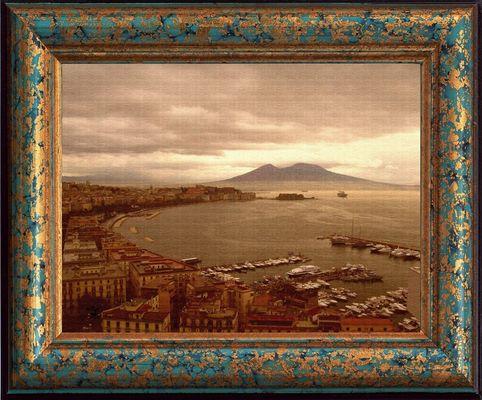 Napoli - Panorama con vista del Vesuvio