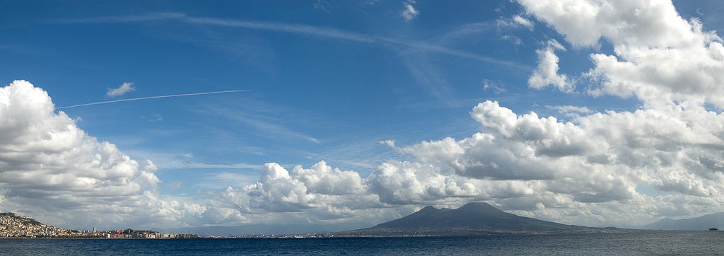 Napoli, the Vesuvio