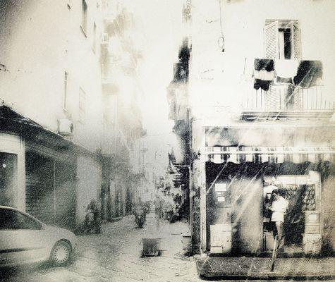 Napoli und Regen / Napoli e piove