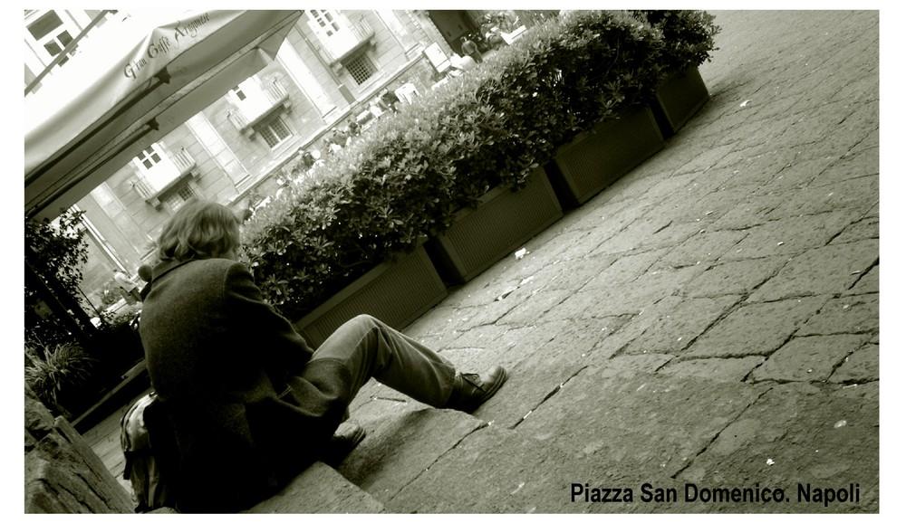 Napoli.Piazza San Domenico