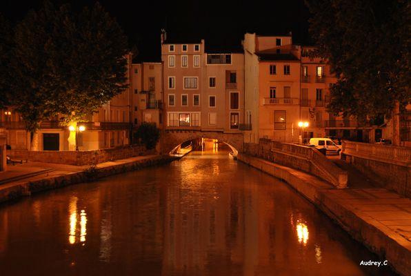 Narbonne (11) et son canal du midi