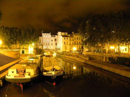 Narbonne de nuit 1