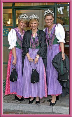 Narzissen Königin und Prinzessinen Bad Aussee 2006