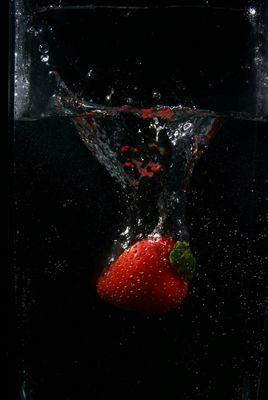 Nasse Frucht