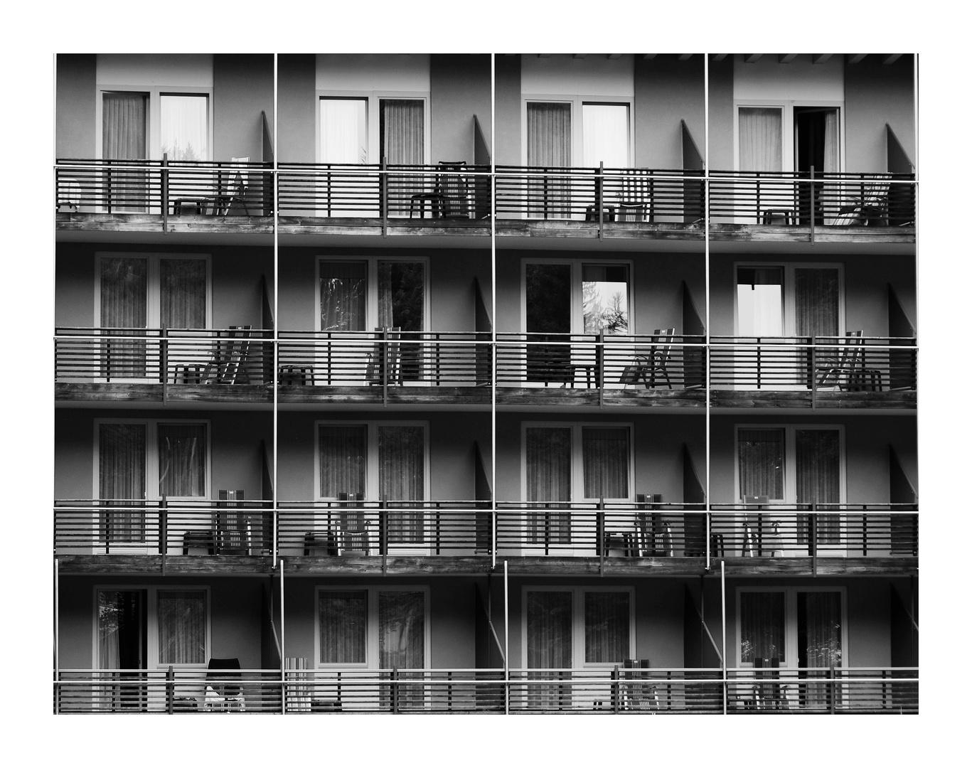 nasser Sommer - leere Hotels