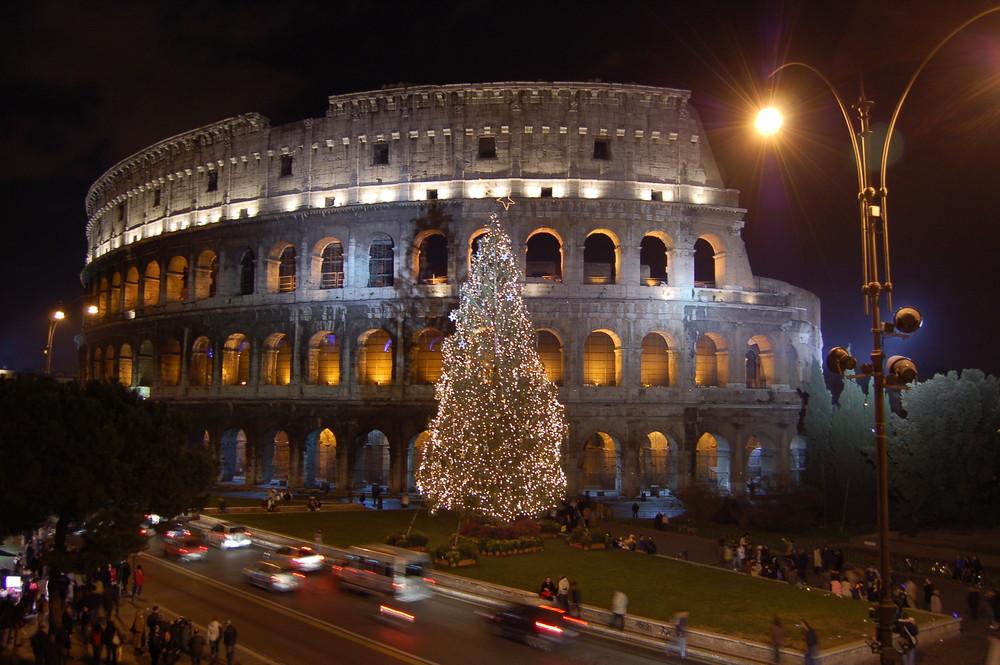 Natale sotto il Colosseo....