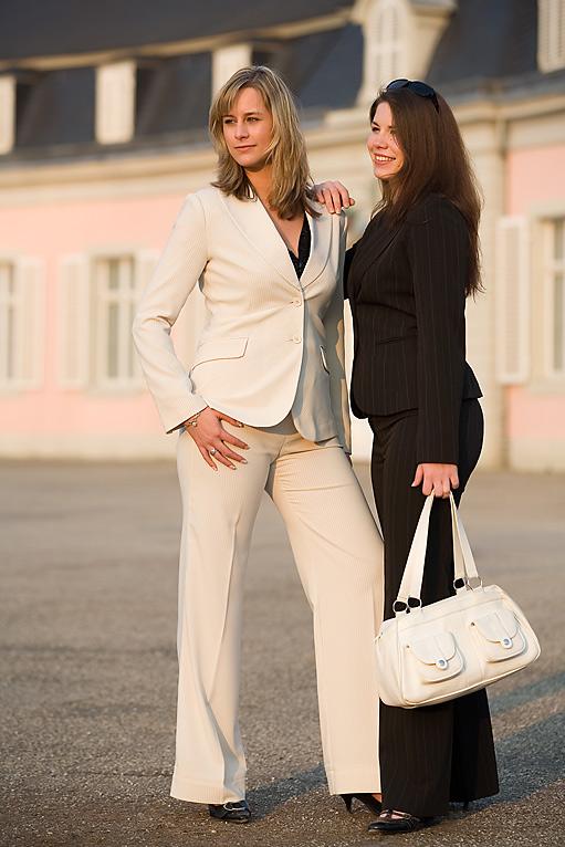 Natalie und Yvonne